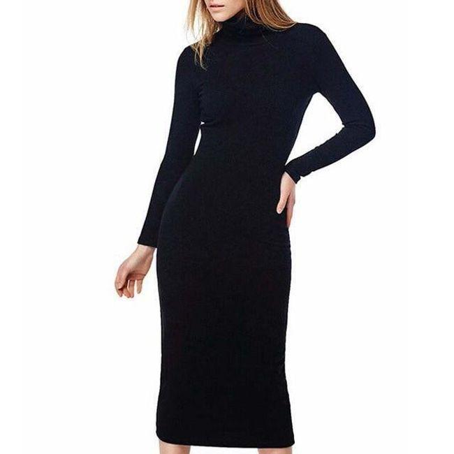 Dámské šaty s dlouhým rukávem Ula 1