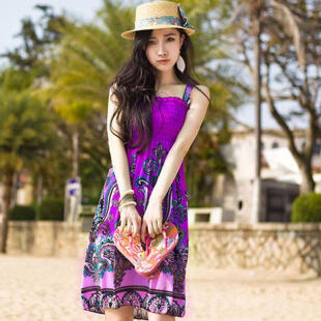 Bohém nyári ruhák - 7 változat