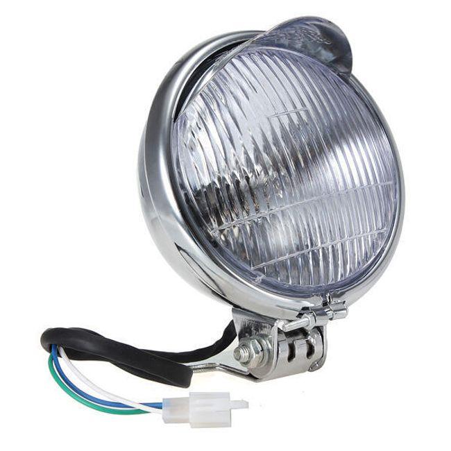 Okrogli 12V reflektor za motocikel 1