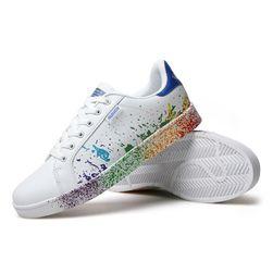 Дамски обувки с цветни петна