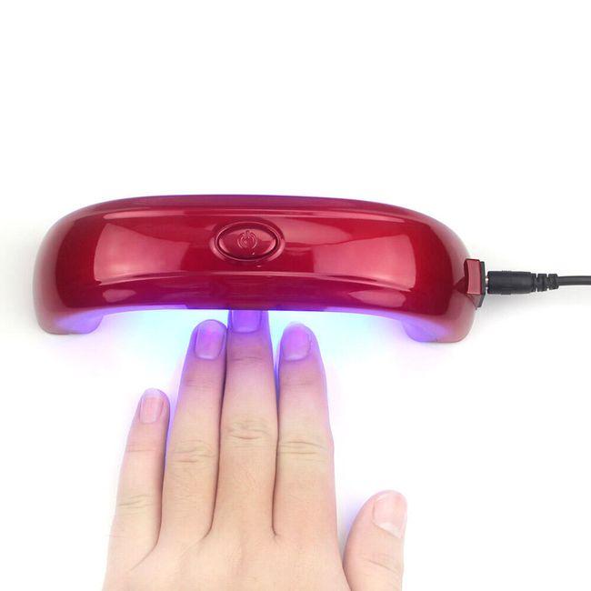 Mini UV lučka za nego nohtov 1