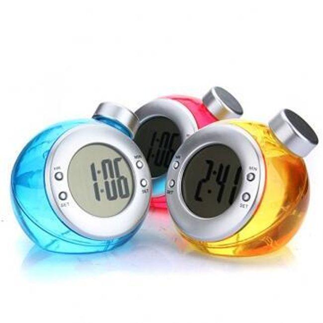 Ekologiczny zegarek cyfrowy zasilany wodą 1