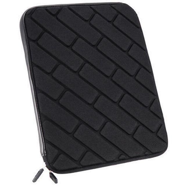 Ochranné pouzdro se zipem pro iPad 2 a nový iPad - černé 1