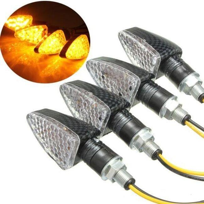 Komplet 4 LED smernikov za motorna kolesa s 15 LED 1
