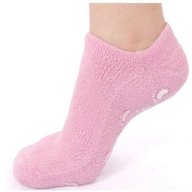 Hidratáló gél és csúszásgátló zokni 1