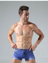 Pánské boxerky s imitací džínů - 6 varianty