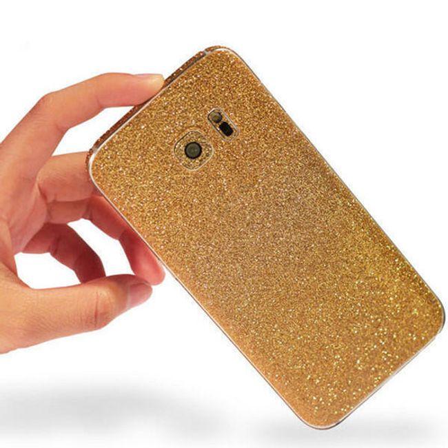 Barevné nálepky na kryt pro Samsung Galaxy S7 Edge 1