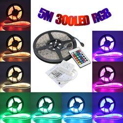 Bandă LED RGB cu telecomandă - 5 m