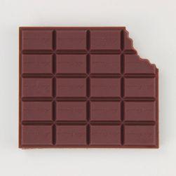 Poznámkový blok - ukousnutá čokoláda