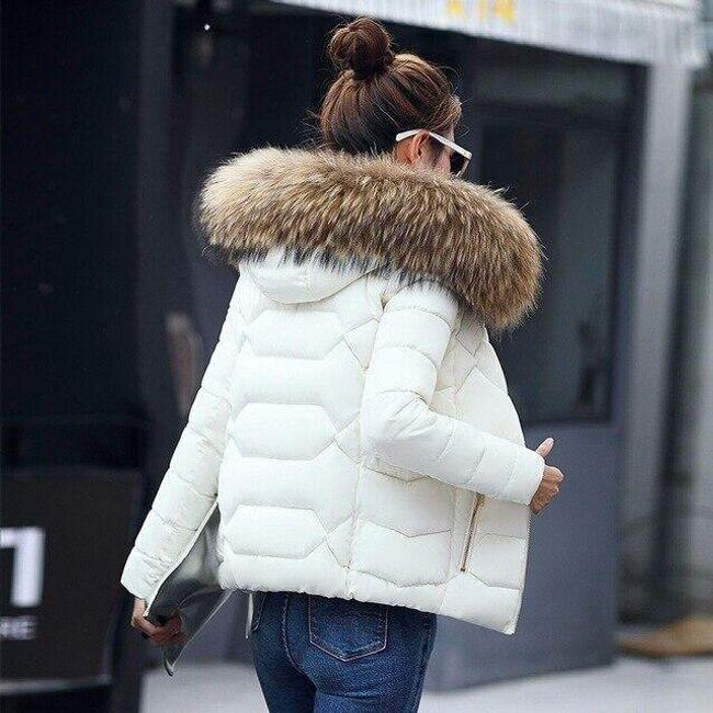 Női prémes kabát ABG01