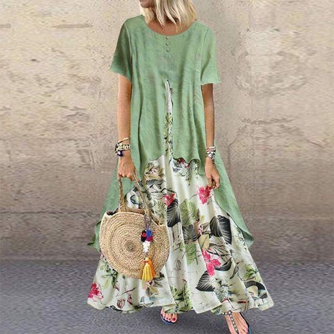 Dámské maxi šaty Lorry 1