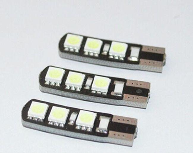 Parkovací LED žárovka T10 1