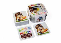 Pexeso Rok dziecięcy - wodoodporny - 64 karty w blaszanym pudełku  RM_10770026