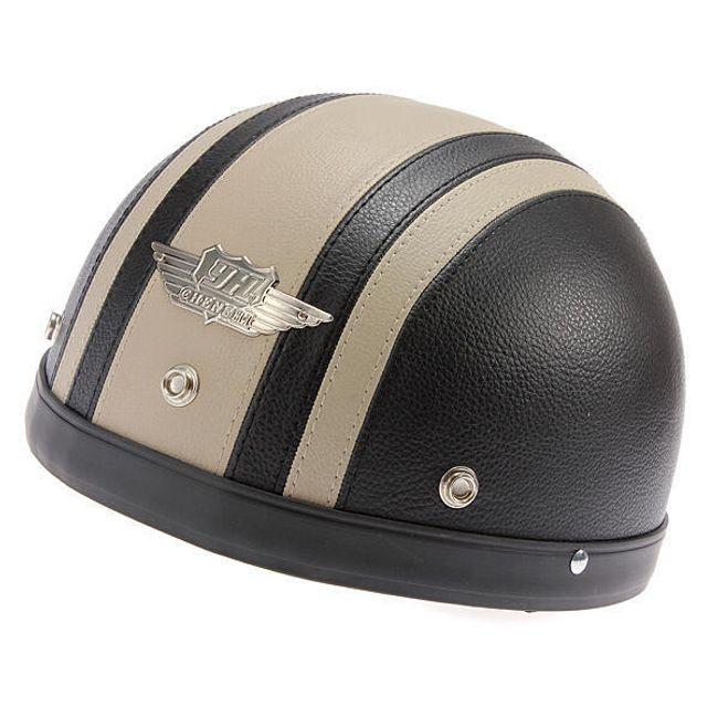 Helma na motorku šedá XL 1