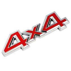 3D araba metal sticker 4x4