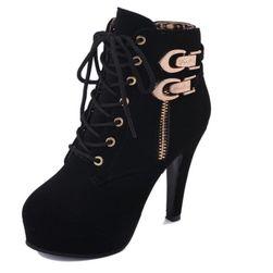 Ženske elegantne cipele na platformu