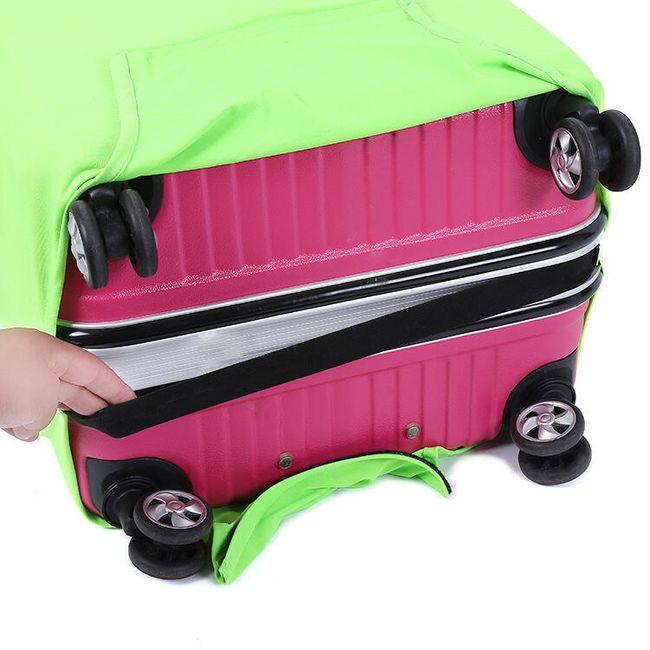 Zaščitna prevleka za potovalne kovčke v različnih velikostih 1
