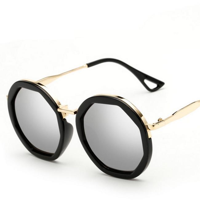 Dámské kulaté sluneční brýle 1