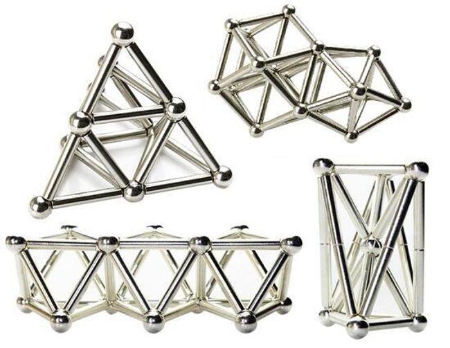 Neocube Bars and Balls - 63 ks magnetů 1