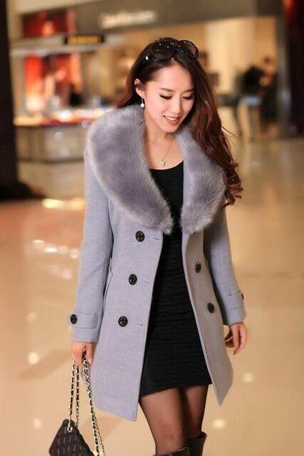 Dámský zimní kabát Alzie 1