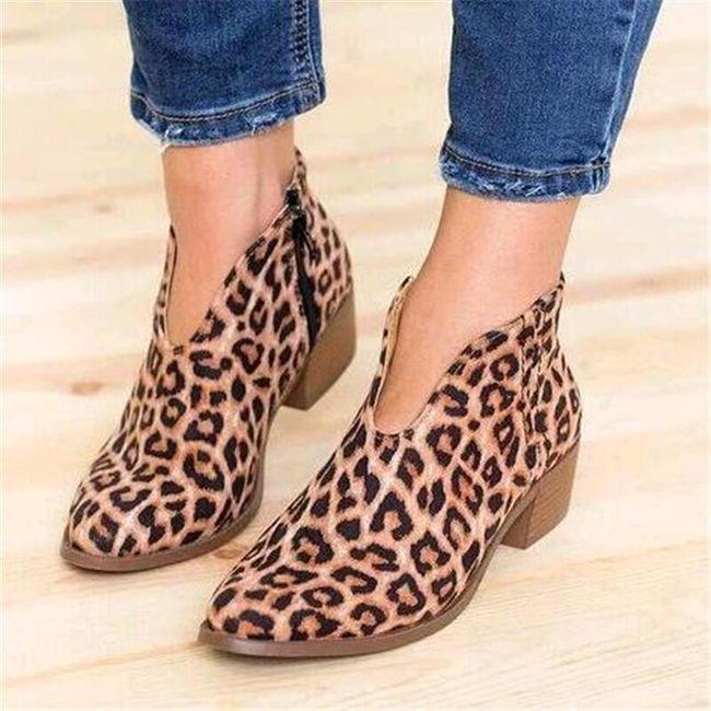 Dámské boty na podpatku Basemath 1
