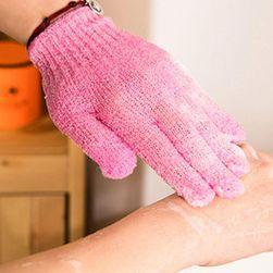 Rękawice złuszczające