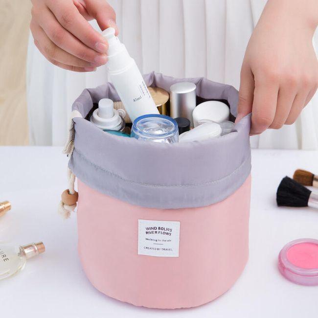 Kosmetická taška na stahovací šňůrku - 4 barvy 1
