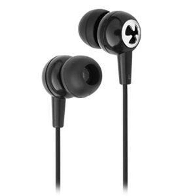 Stereo sluchátka KANEN EC5 - špunty, černé 1