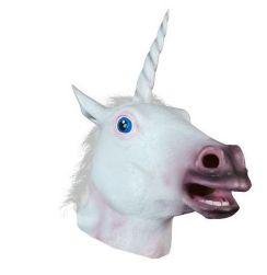 Masca din latex - unicorn