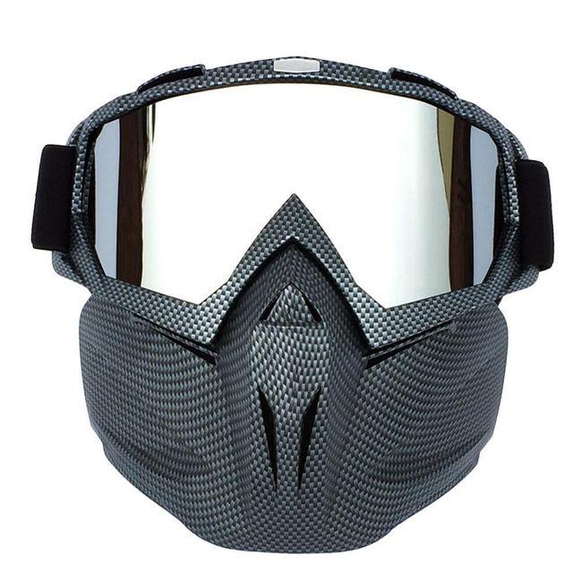 Narciarskie okulary z maską LH06 1