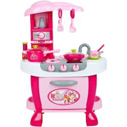 Veľká detská kuchynka s dotykovým senzorom + príslušenstvo RW_31913