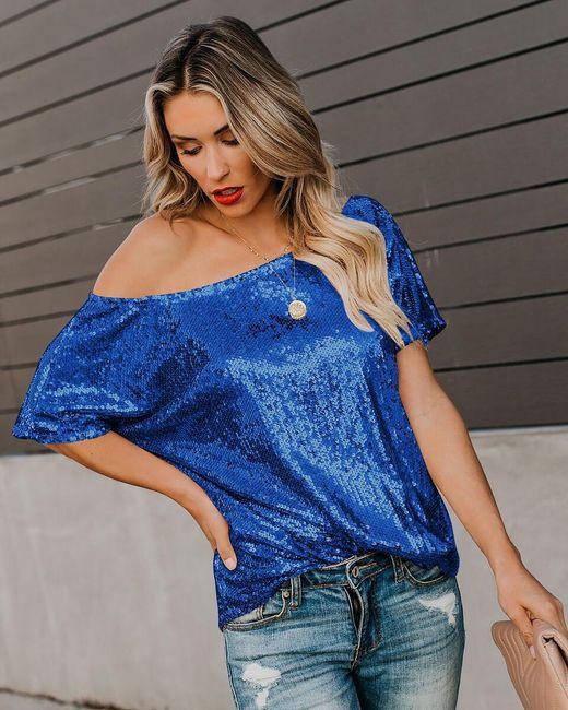 Damska koszulka z krótkim rękawem Vanessa 1
