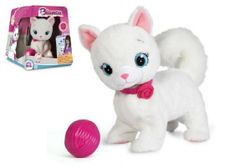 Mačka Bianca hovoriaci hýbajúce sa plyš 25cm na batérie v krabici RM_23495847