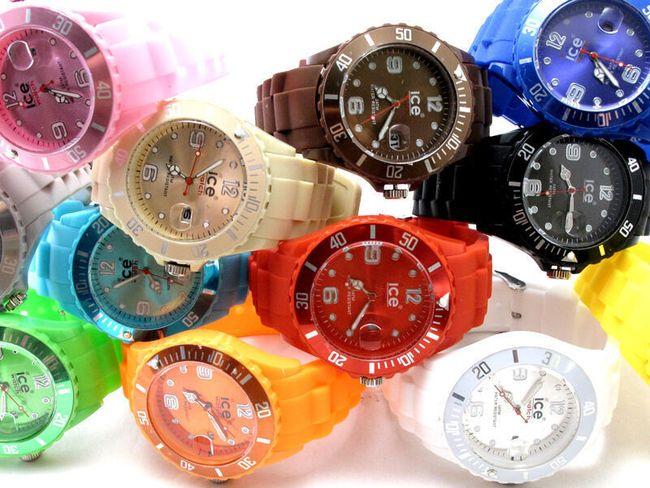 Silikonové sportovní hodinky - na výběr z 12 barev 1