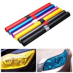 Naklejki samochodowe w różnych odcieniach - 30 x 100 cm