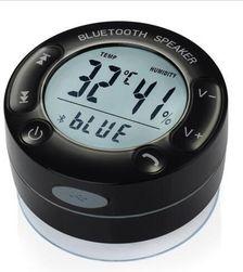 Bluetooth reproduktor s přísavkou do koupelny a ukazatelem teploty