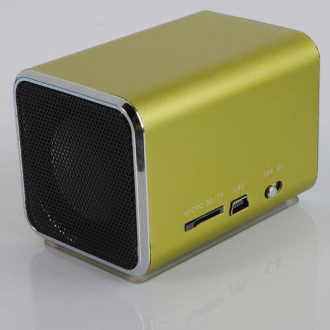 Mini reproduktor na USB, SD karty, 3.5mm Jack 1