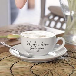 Filiżanka i spodek - Najpierw kawa, potem wino SR_DS16188590