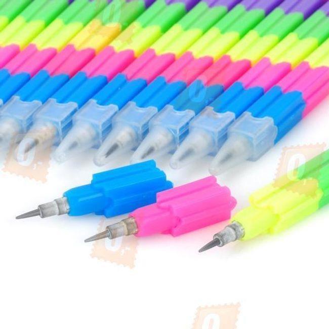 Skládací tužka s osmi hroty - 12 kusů 1
