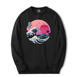 Férfi pulóver Kanagawa