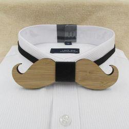 Papion elegant de lemn pentru domni