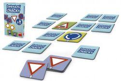 Pexeso Dopravní značky společenská hra 48ks v krabičce 11,5x18x3,5cm RM_21622197
