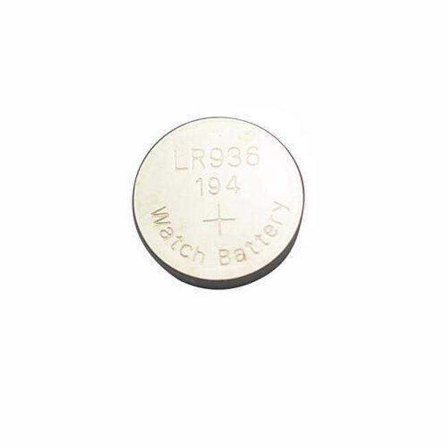 10ks Alkalická knoflíková baterie AG9/394A 1