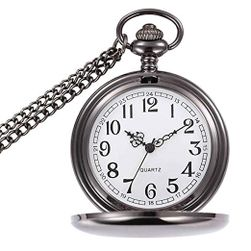 Джобен часовник с красив циферблат
