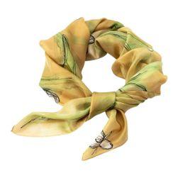 Hedvábný šátek ručně malovaný Rašení