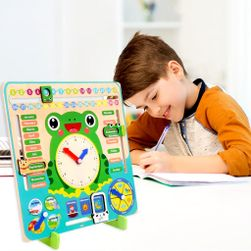 Dřevěný didaktický kalendář pro děti PD_1537567