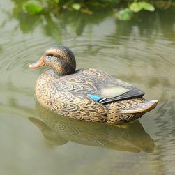 Dekoracja ogrodowa - pływająca kaczka