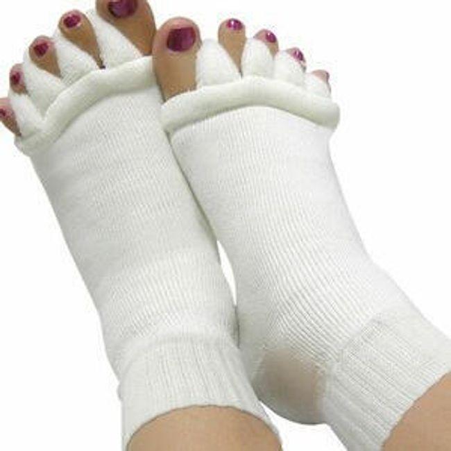 Skarpetki bawełniane z funkcją pielęgnacyjną 1