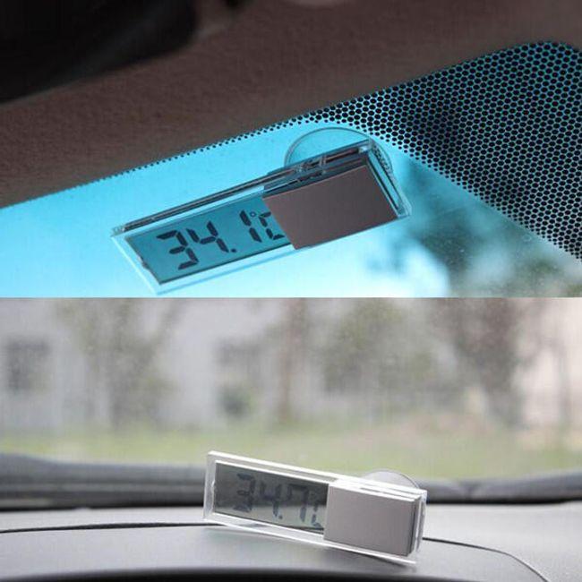 Цифровой автомобильный термометр 1