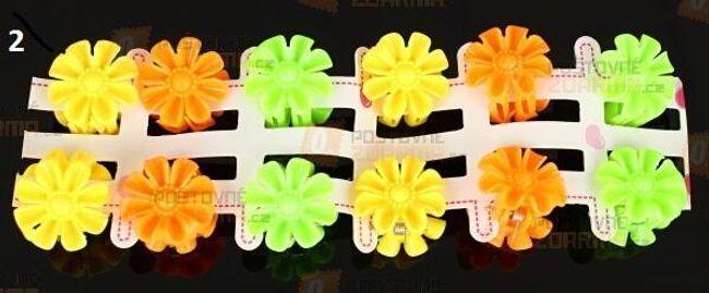 Set 12 clame în formă de flori 1